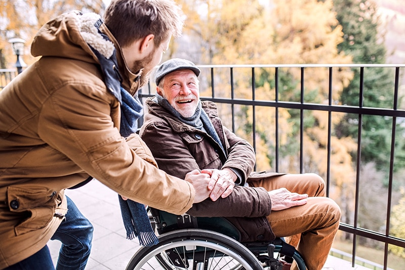Walking and Traveling with Person in a Wheelchair