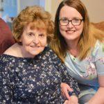 Caregiving for her mom with Alzheimer's