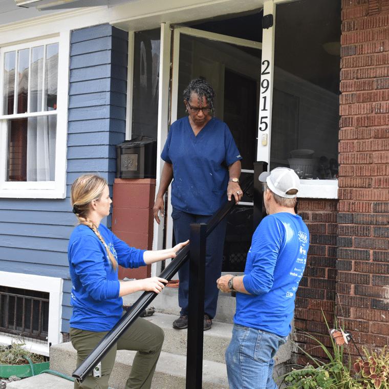 Safe at Home Volunteer to Help Make Seniors Homes Safer