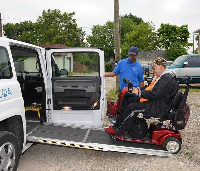 Wheelchair Transportation   CICOA