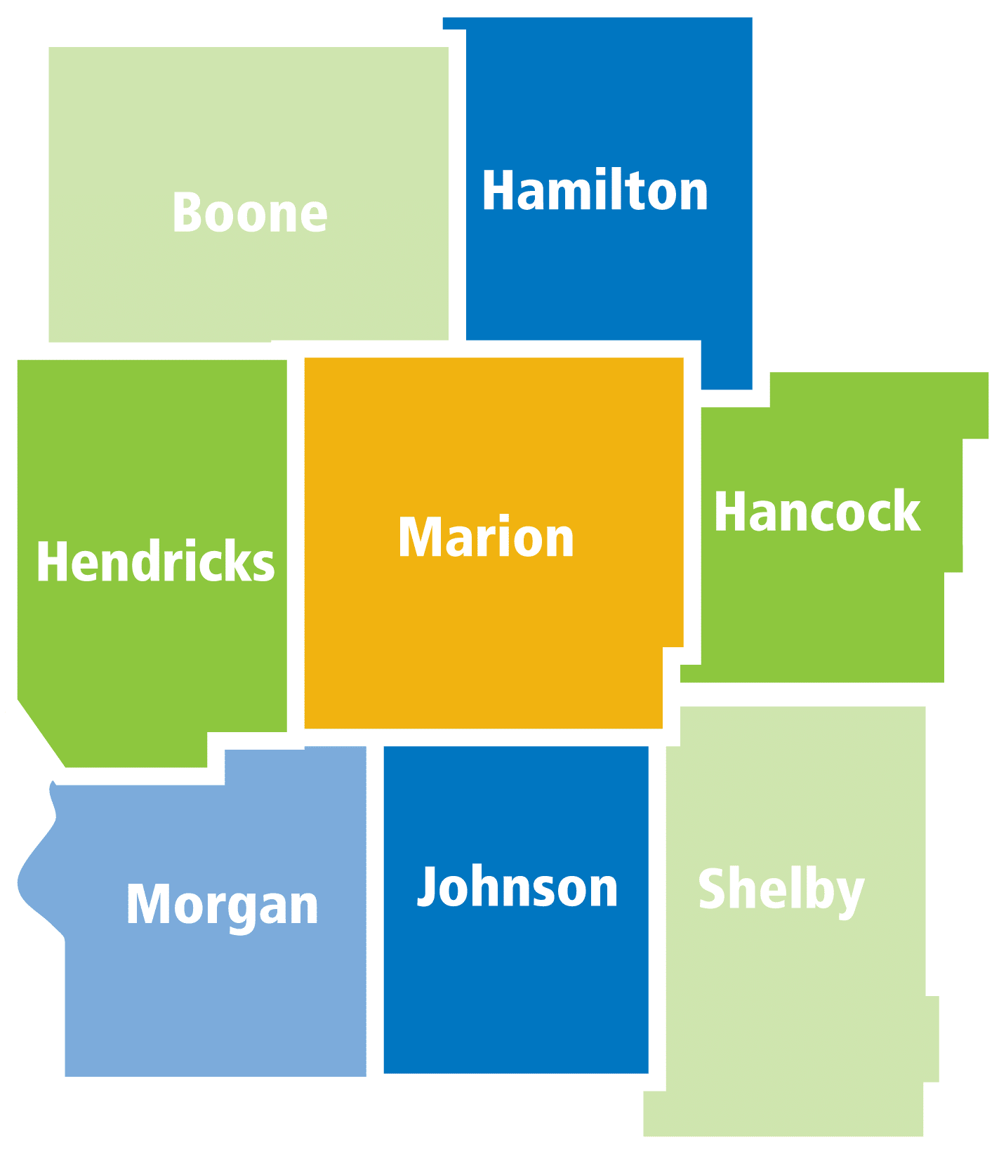 CICOA Central Indiana service counties