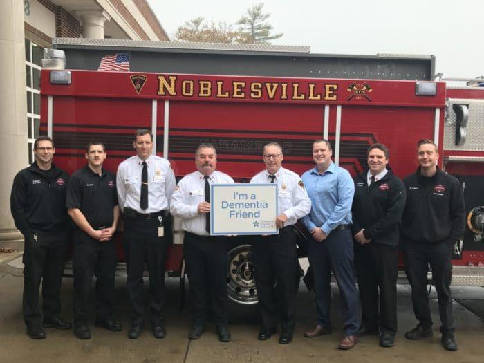 Noblesville Fire Department Dementia Friends Indiana