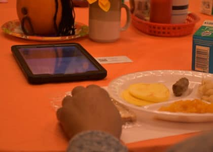 Meal Site Tablet