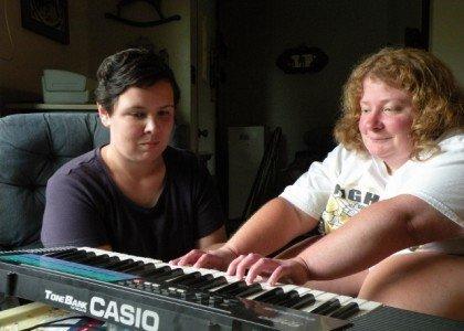 Tori and Claire Riley