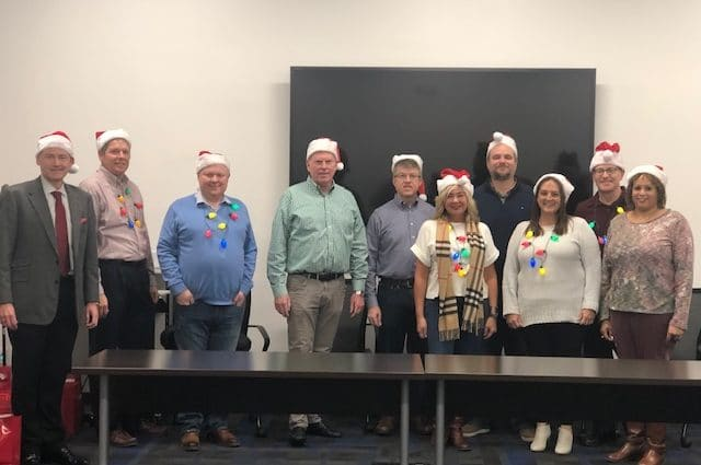 Herman & Kittle employees volunteer at CICOA for holidays