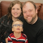Brehm Family Caring for Special Needs Child in Shelbyville Indiana