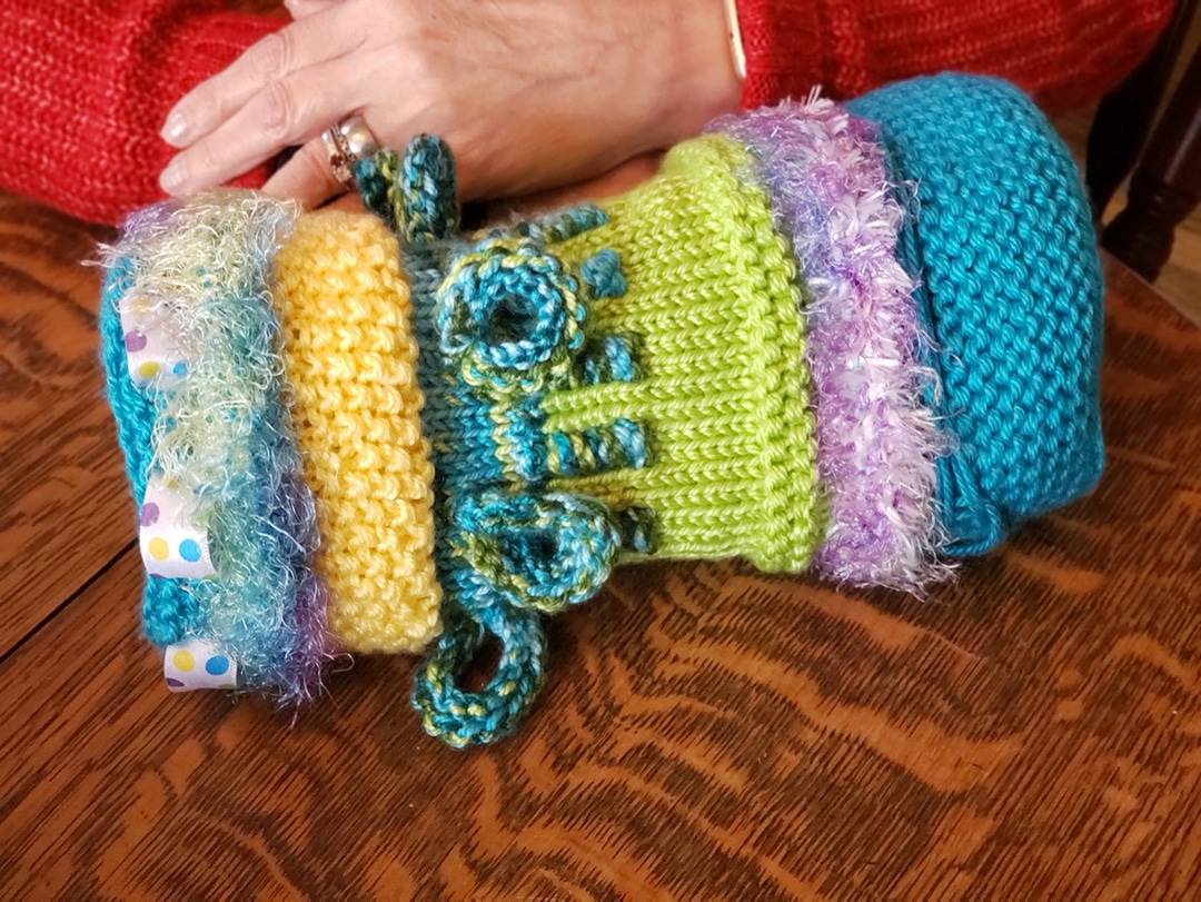 Twiddle Muffs Sensory Tool for People with Alzheimer's and Dementia