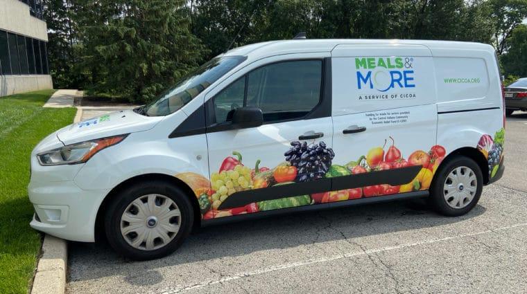 Meals & More Delivery Van