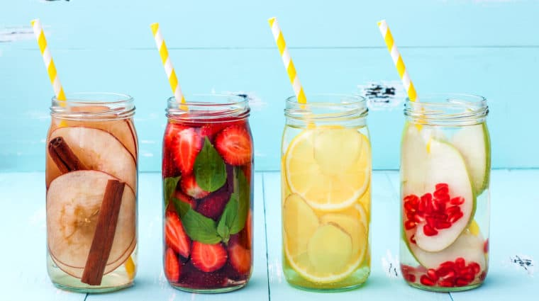 Flavored water can help older adults stay hydrated