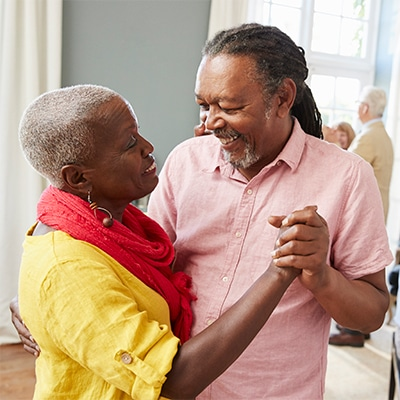 Dancing is exercise for seniors