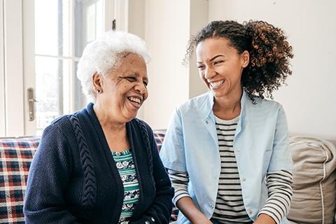 Caregiver Millennial