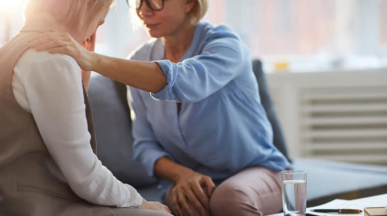 Help a stressed caregiver