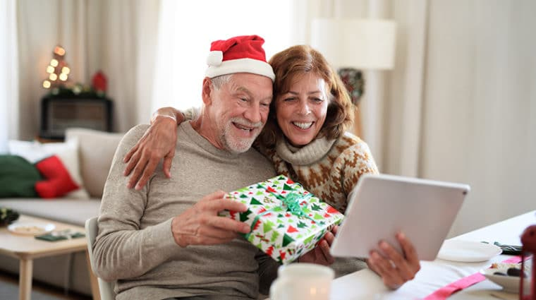 Caring for seniors holidays COVID-19
