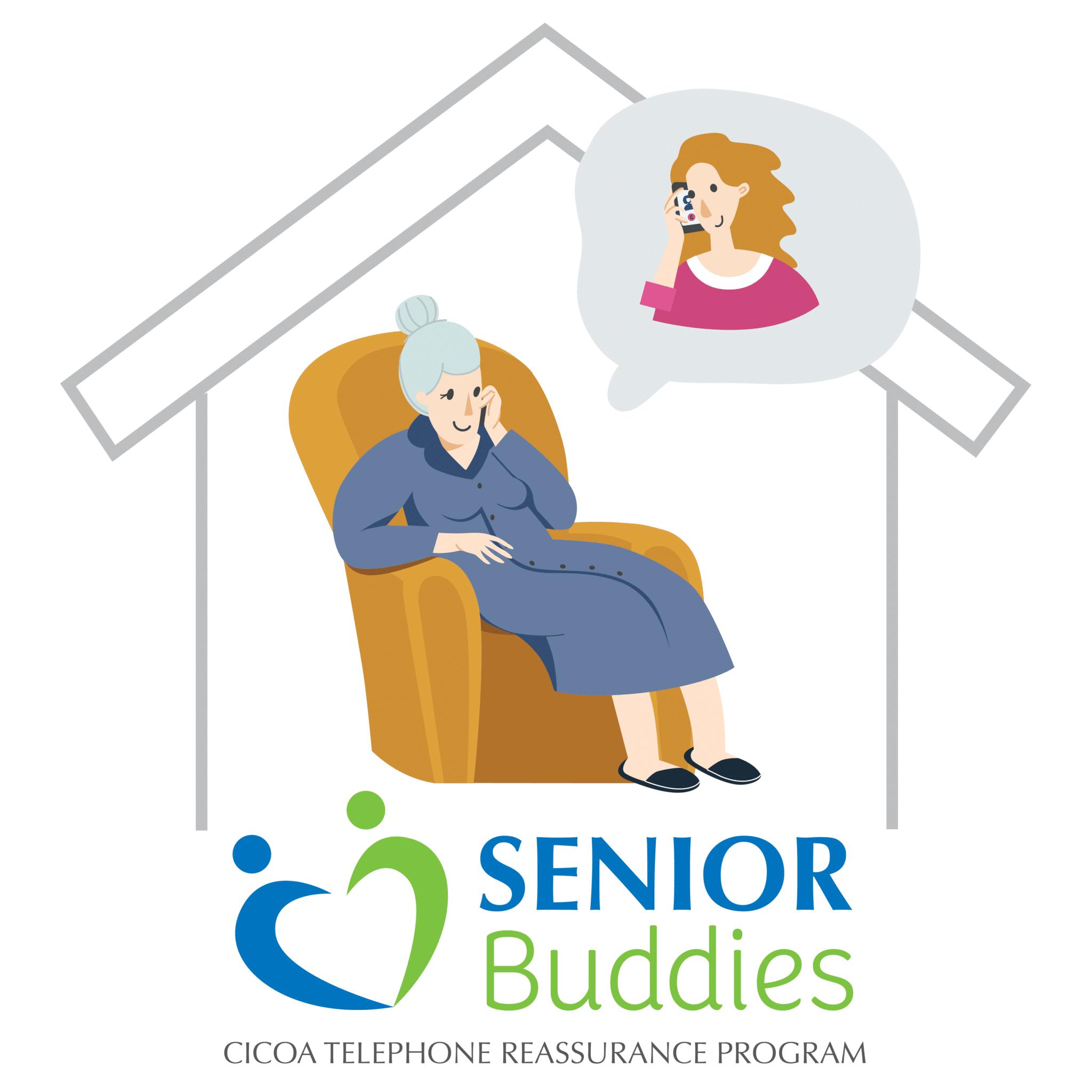 Senior Buddies Telephone Reassurance Volunteers