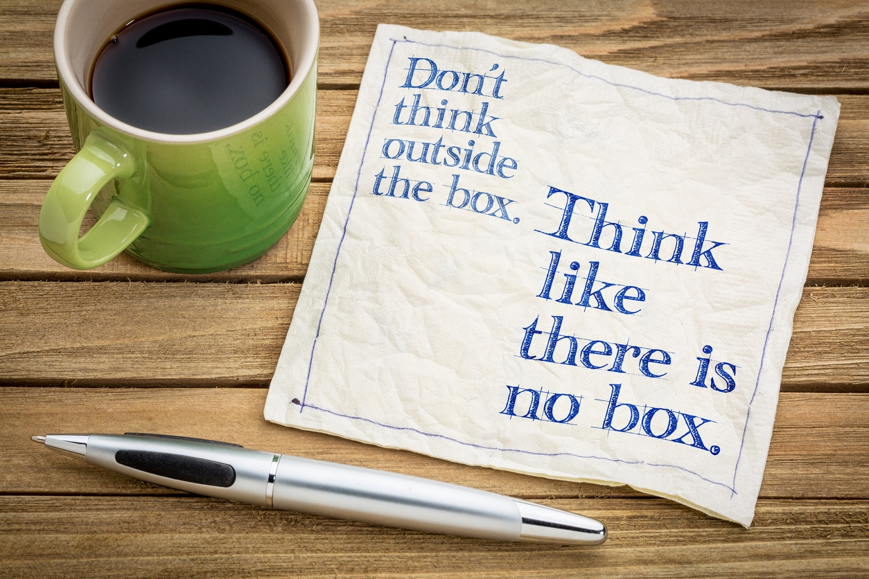 Think like there is no box