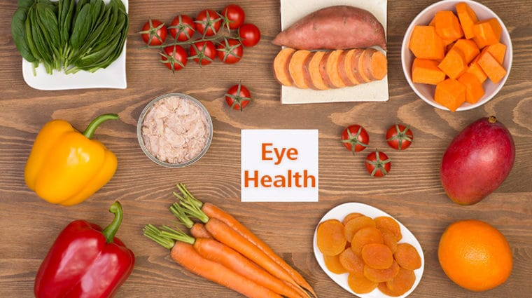 Foods for Eye Health Nutrients
