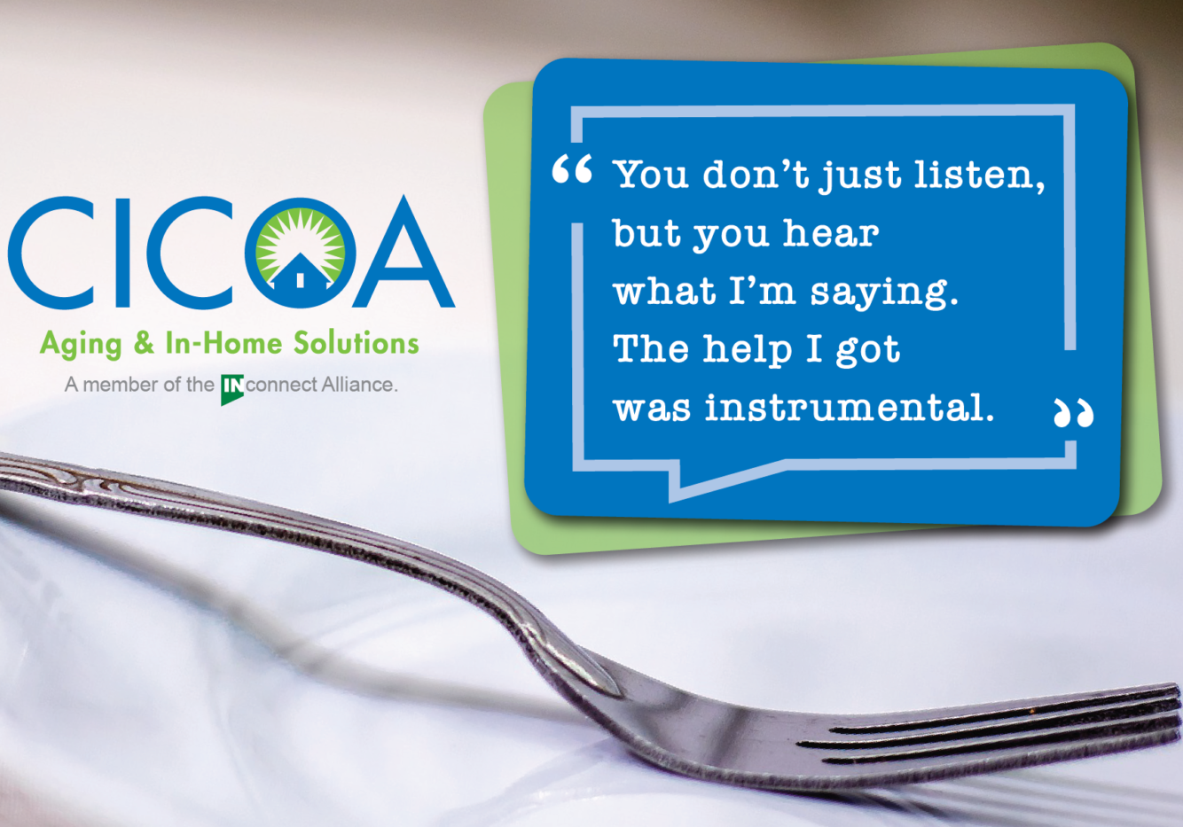 CICOA Home-Delivered Meals Testimonial