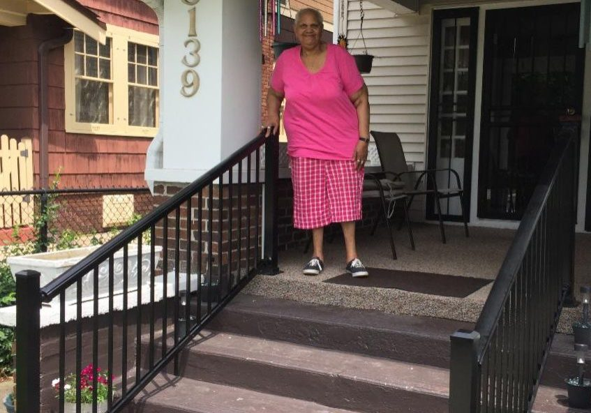 Safe Handrail for Senior in Indianapolis